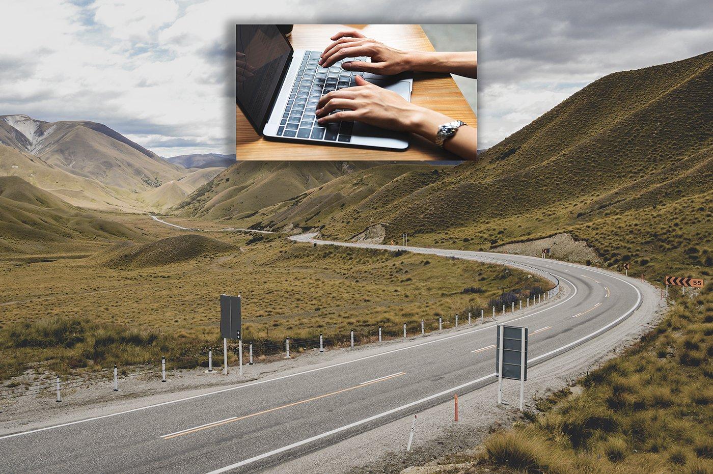 Race Track or Freeway