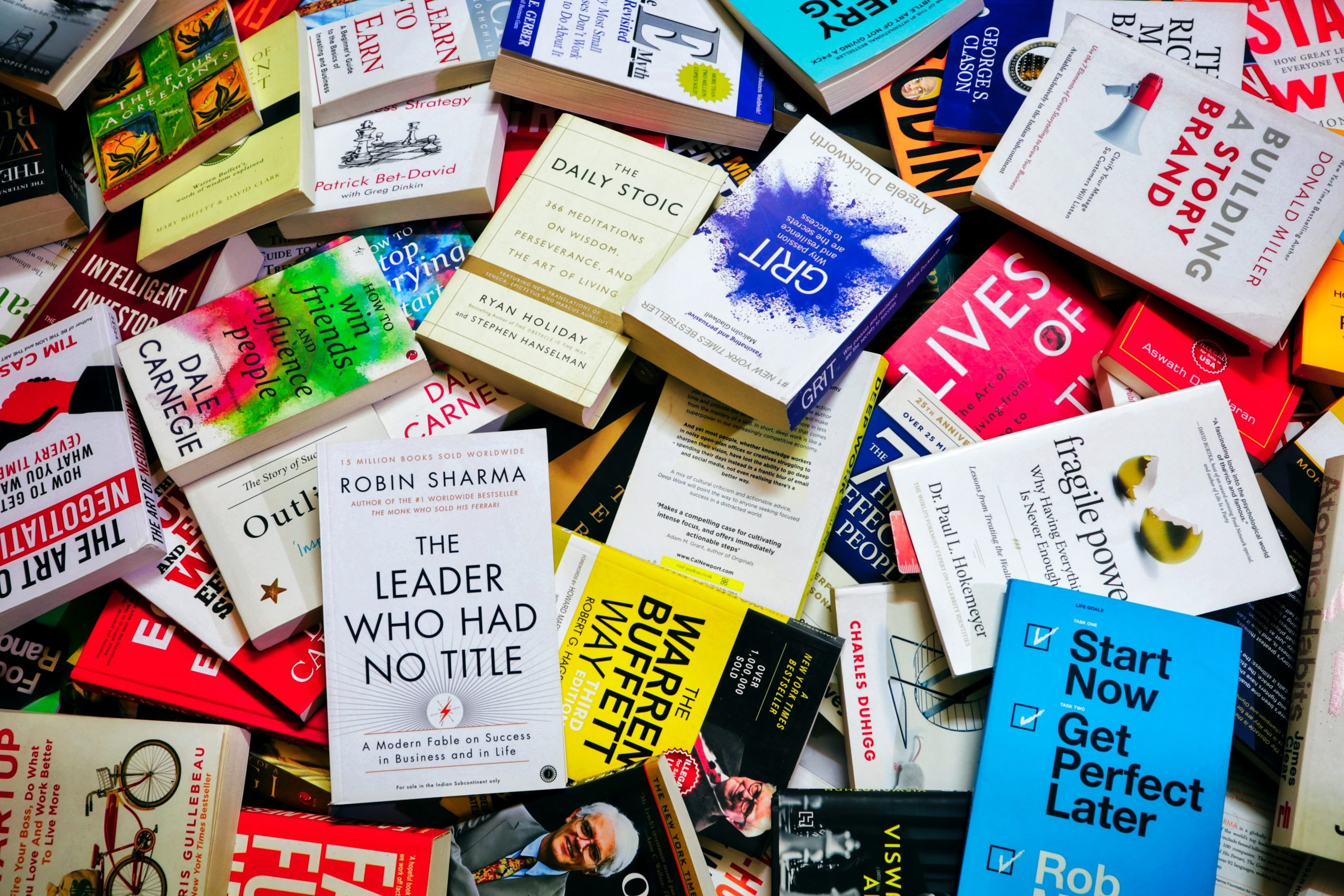 Best Self-Help Books to Guide You Through Life